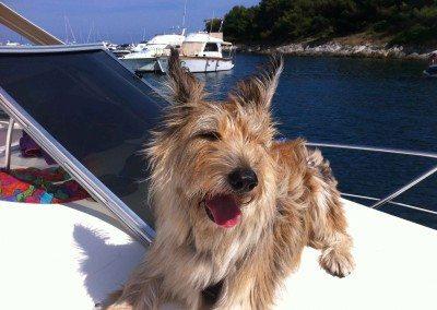 En bateau avec ma nouvelle maitresse